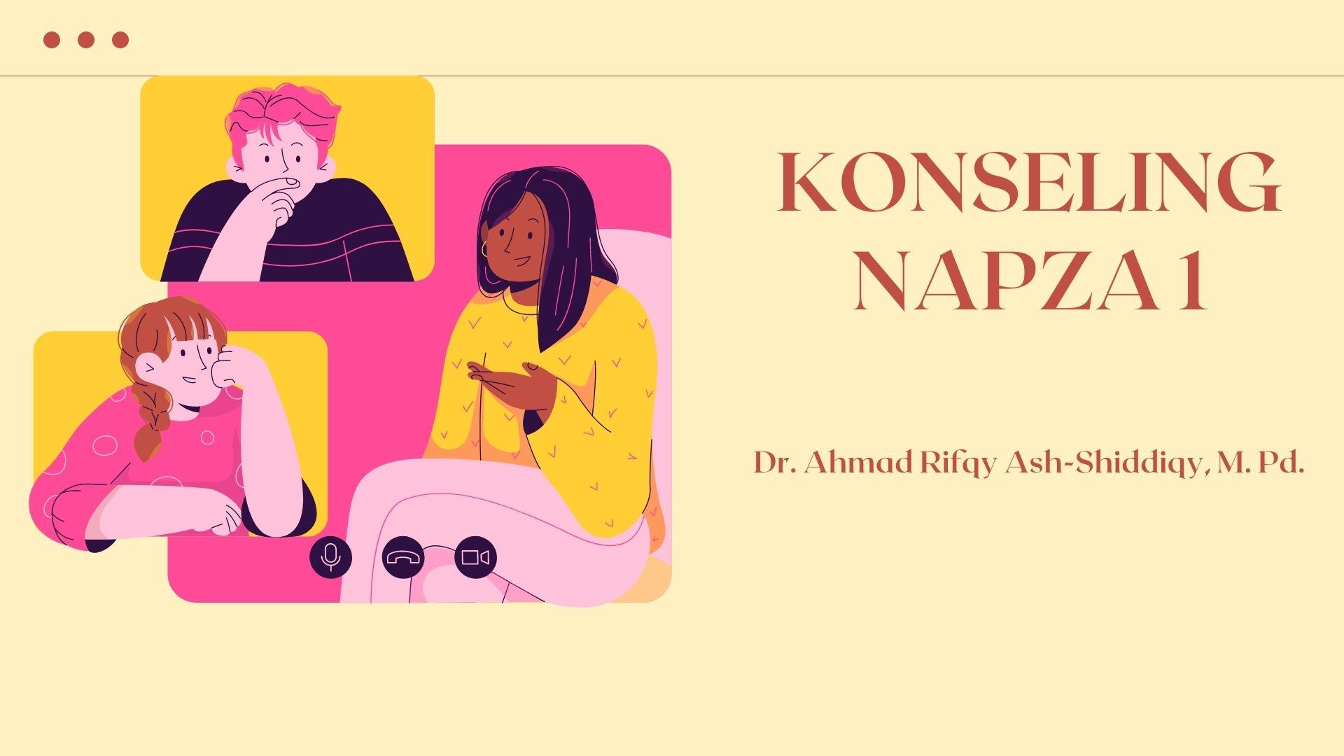 KONSELING NAPZA 1