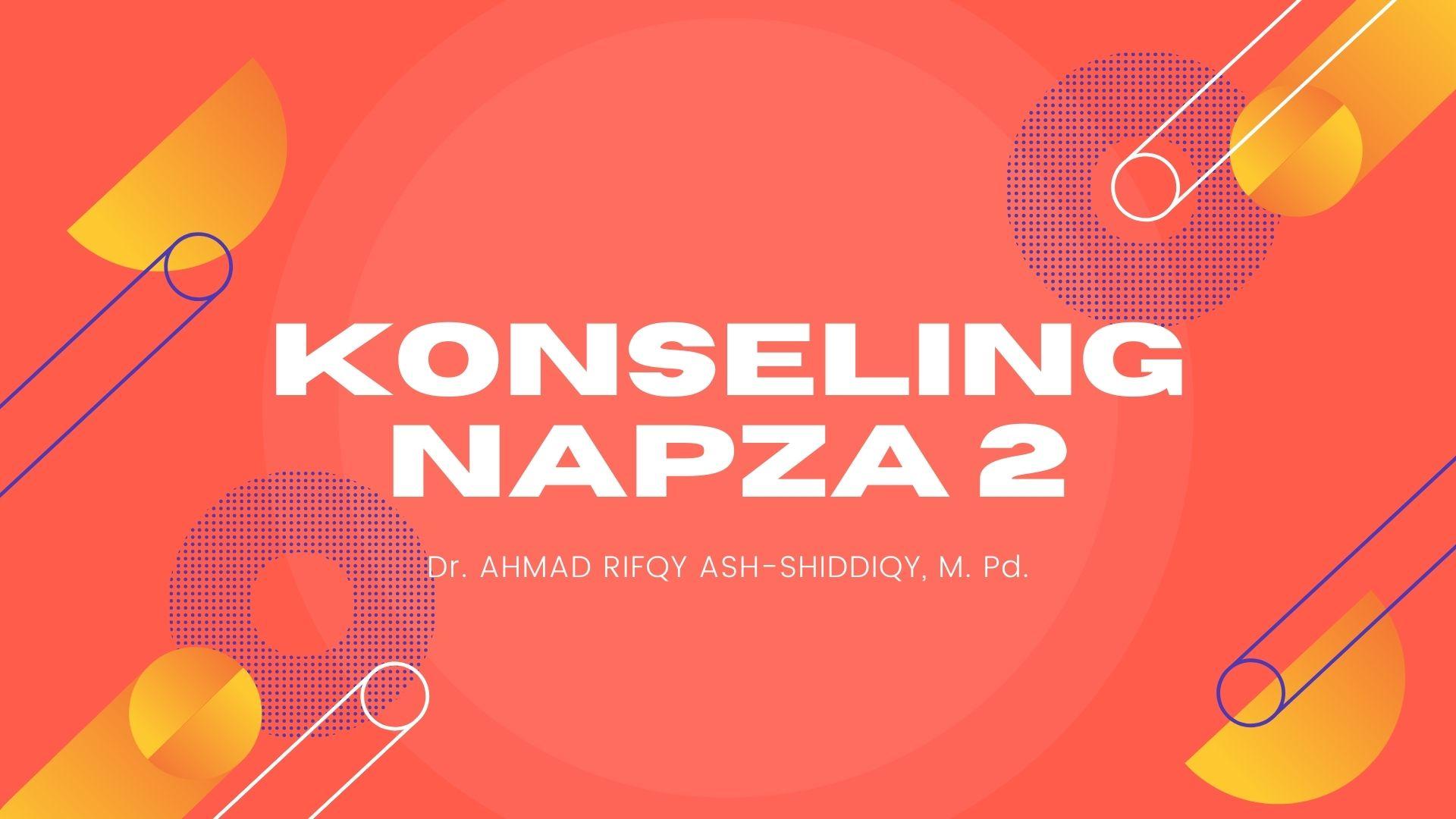 KONSELING NAPZA 2